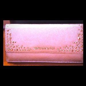 Michael Kors Gold Studded Wallet